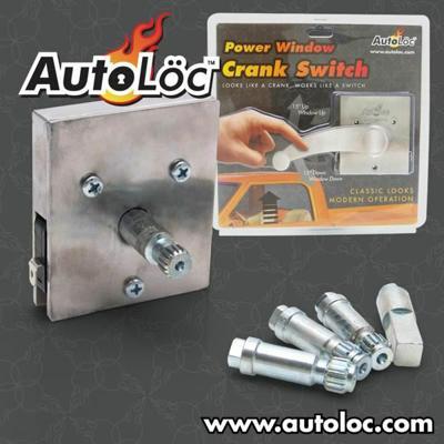 New electric window crank switch vintage chev holden dodge Window crank motor