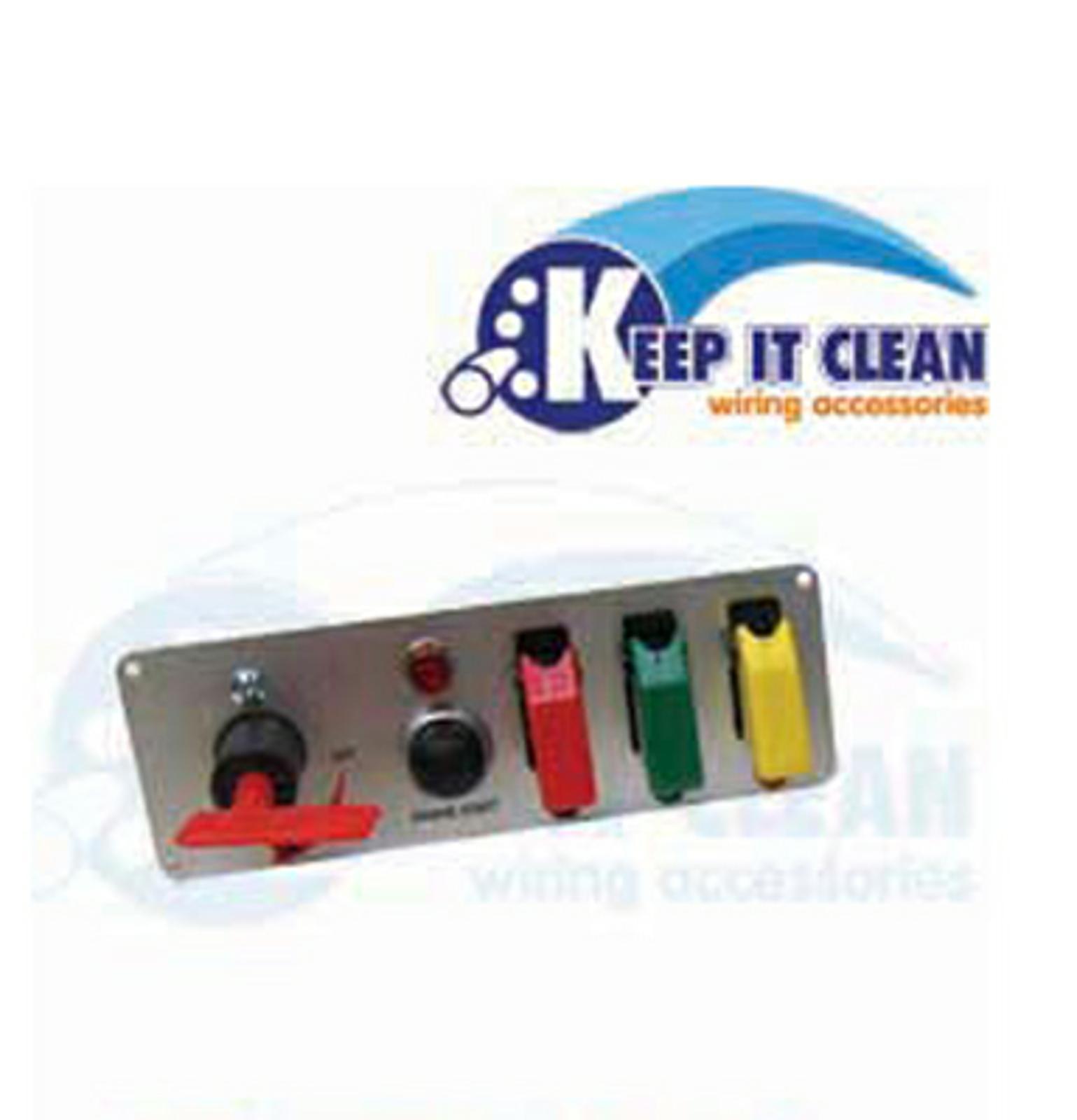 Race Car Switch Panel Push Button Start Pro Street Rod Drag Sprint Wiring Imca Racing