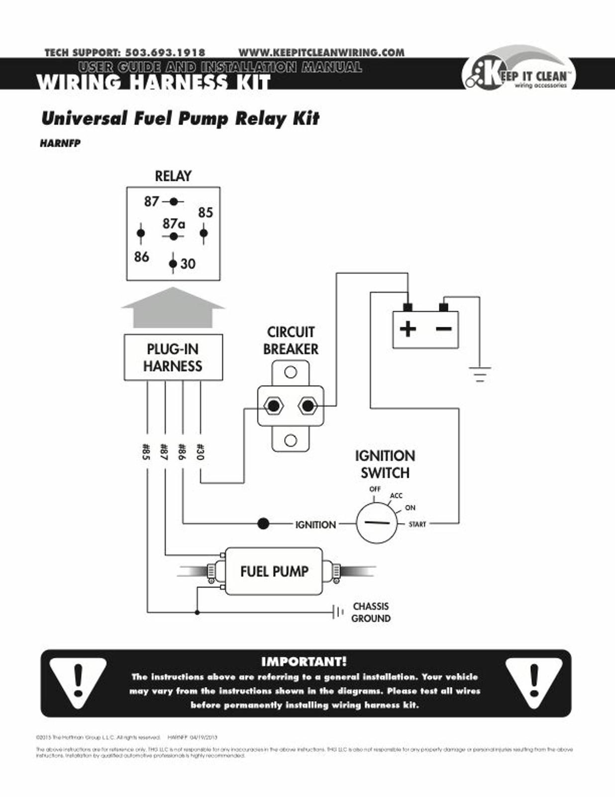 426 hemi chrysler v8 electric fuel relay wiring kit race car parts ebay
